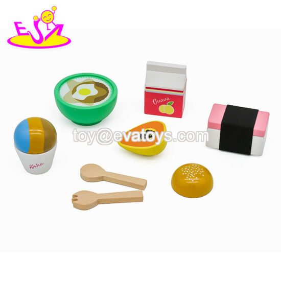 2019 Most Popular Simulation Wooden Realistic Play Food for Children W10b304