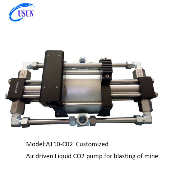 Usun Model: At10-CO2 50-80 Bar High Pressure Air Liquified CO2 Pump for Closed Loop System