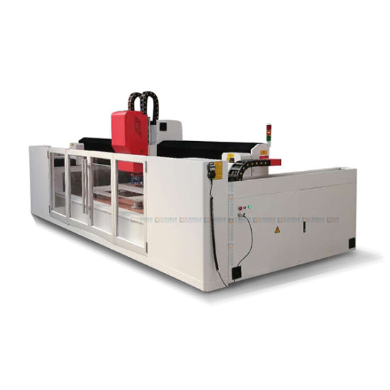 CNC Automatic Shaped Glass Edge Processing Machine
