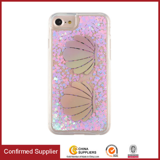 Glitter Phone Case Fashion Flowing Liquid Floating Sparkle Clear Case