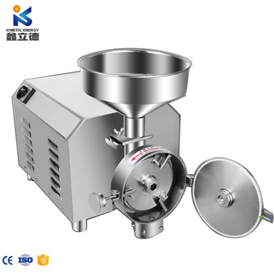 Stainless Steel Electric Spice Grinder Coffee Bean Grinding Machine