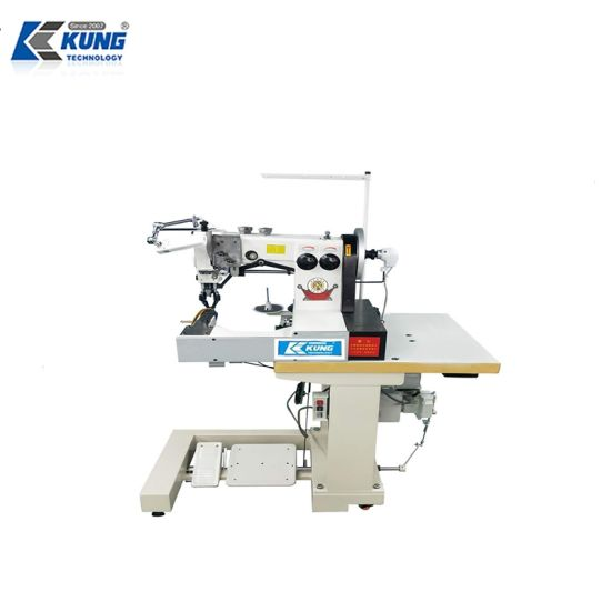 Kingkung Accuracy Shoe Repair Machine Pattern Sewing Machine for Shoe Upper Making pictures & photos