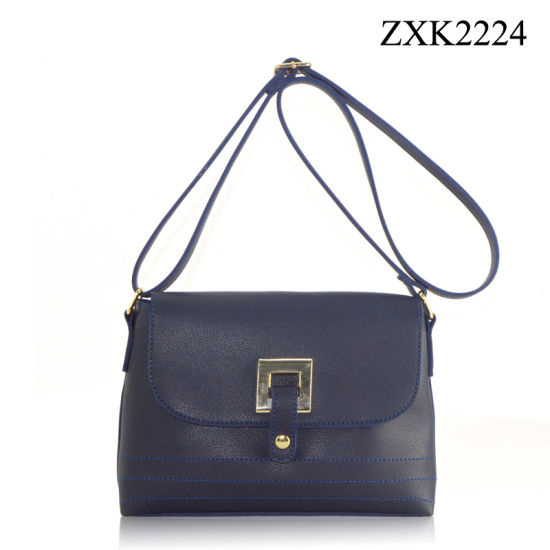 3b21c0a14a7 China PU Leather Lady Shoulder Bag (ZXK2224) - China Ladies Handbags ...