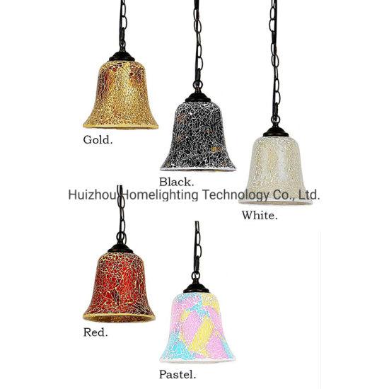 Jlc-9071 Home Mosaic Glass Hanging Pendant Lamp