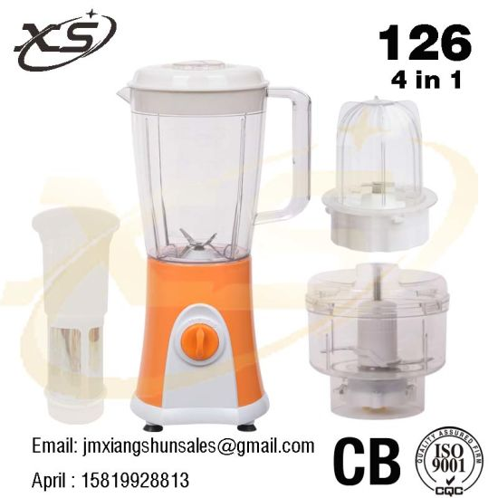4 in 1 2 Speed Electric Blender for Home Appliance