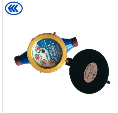 Beautiful Appearance Liquid Sealed Vane Wheel Dial Wet Water Meter Mechanical Meter