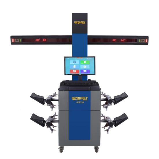 2019 New Model 3D Wheel Alignment Machine for Wheel Repair Work of Car Service Shop Hpr-720
