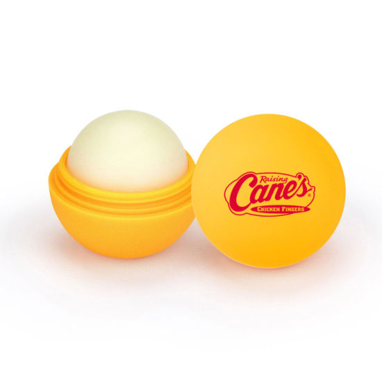 Promotional Lip Balm Ball with Rubber Coat Manufacture Directly Price pictures & photos
