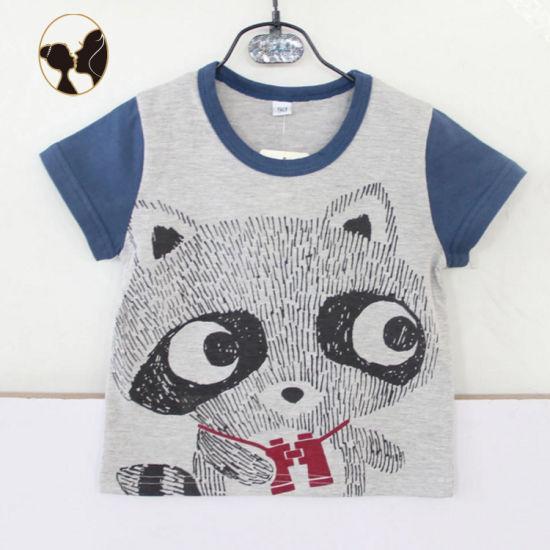 High Quality Jiangsu Suzhou Baby Wear Lovely Printed Tshirt