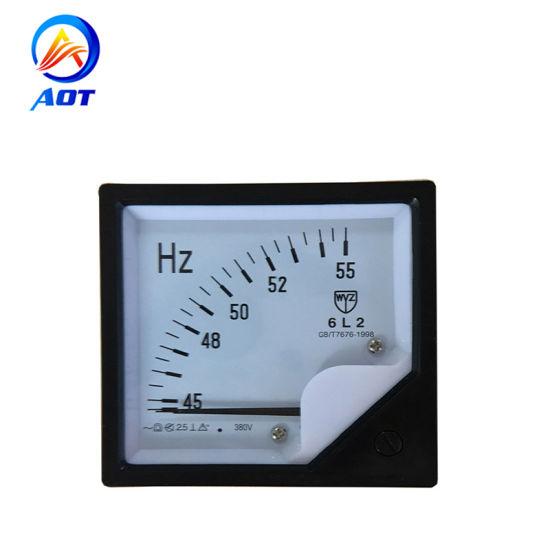 380V Digital Panel Analog Generator Frequency Hz Meter 45Hz-65Hz