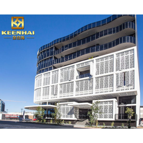 Modern Hollow out Decorative Perforated Wall Facade (KH-CW-66)