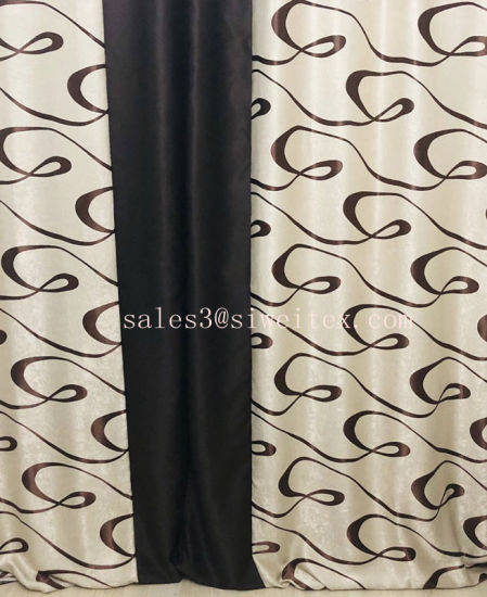 Blackout Curtain Fabric for Russian Market