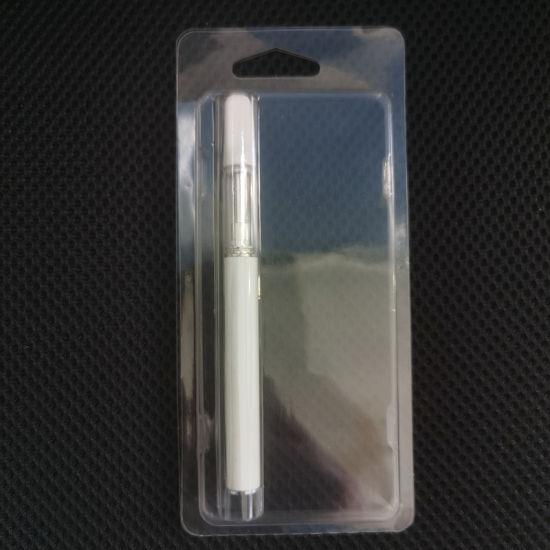 Factory Supply 1ml Cbd Oil Cartridge Disposable Vape Blister Packaging