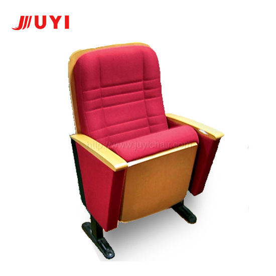 Jy-602 Auditorium Chair Cinema Hall Chair Theater Seat New Leather Movie Fabric Fold Furniture Cushion
