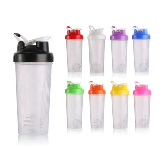 Cheap Price Custom Logo Plastic Water Bottle Sports Drink Protein Shaker Bottle BPA Free