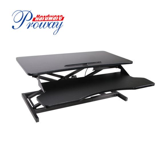 Pneumatic Height Adjustable Standing Office Desk Converter