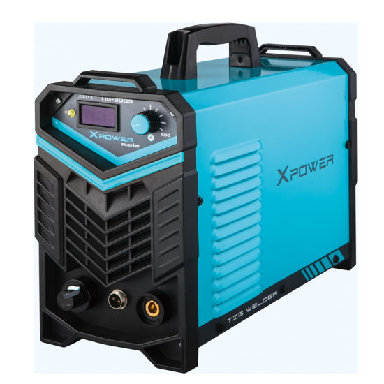 Smart Portable Single Phase Mosfet Inverter TIG-200/250 Welding Machine