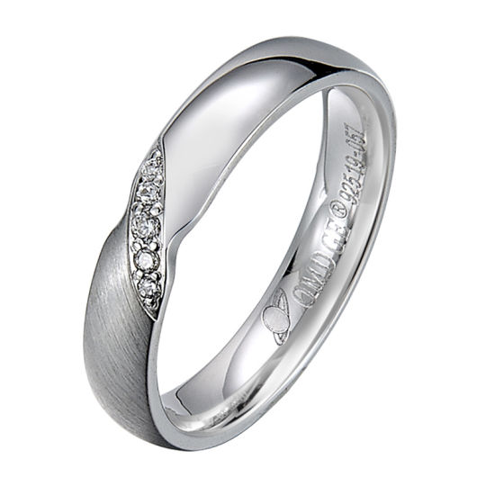 925 Sterling Silver Ring Men Diamond Inlay Fancy Jewelry Sell