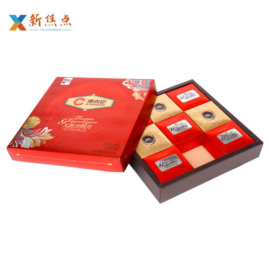 Profession Manufacturer Wholesales Printing Carboard Food Packaging Mooncake Gift Box