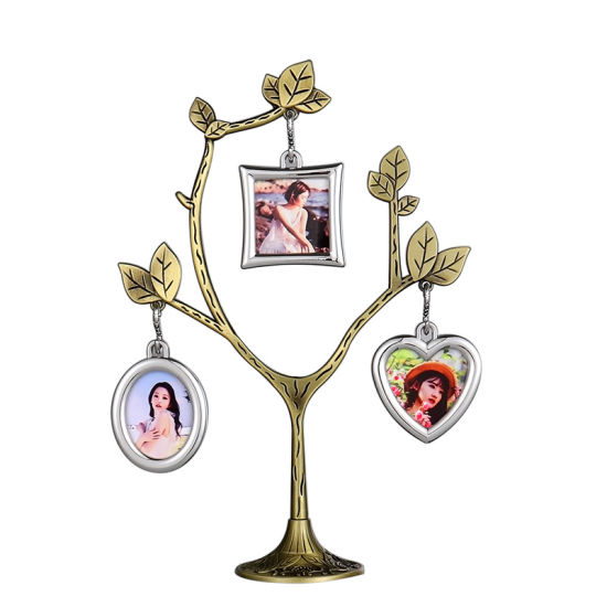 Blank Family Tree Photo Frame Set for Sublimation
