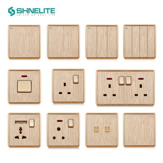Shinelite 12 Years Experience British Standard Light Electrical Switch