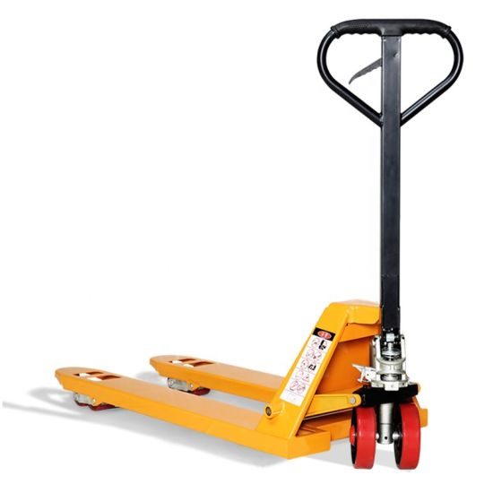 """Pallet Truck with Hand Brake 5500 Lbs 48"""" Length X 27"""" Width Fork"""