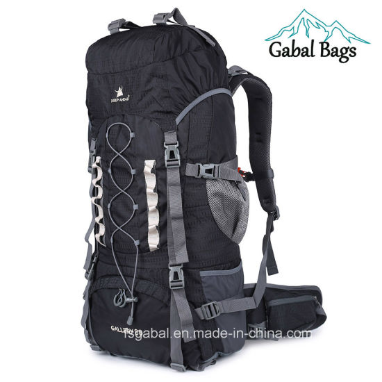 80L Professional Waterproof Nylon Rucksack Backpack for Outdoor Hiking, Travelling pictures & photos