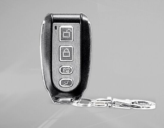 Metal Wireless Alarm Remote Control Keychain