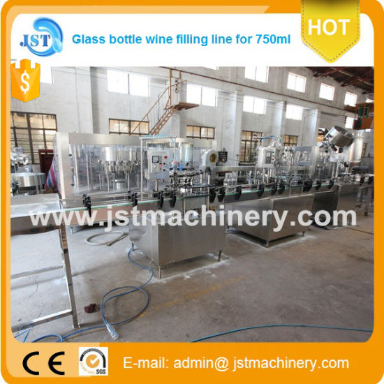Linear Type Bottled Carbonated Beverage Bottling Machines pictures & photos