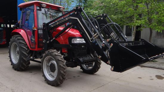 China Front End Loader Map804 100HP Pto Hydraulic Pump Tractor