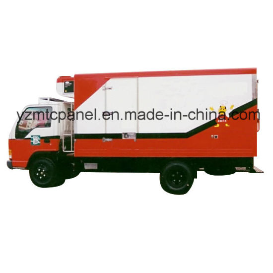FRP Refrigerated Truck Body for Fresh Vegetables