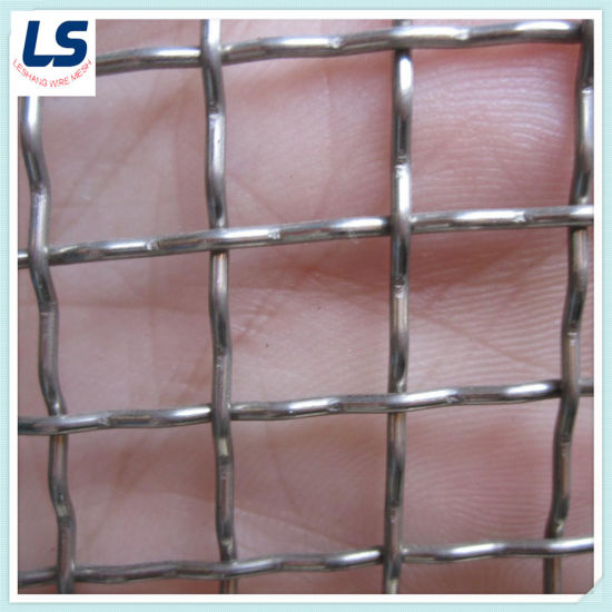 Hastelloy Alloy Crimped Wire Mesh/Stainless Steel Wire Mesh