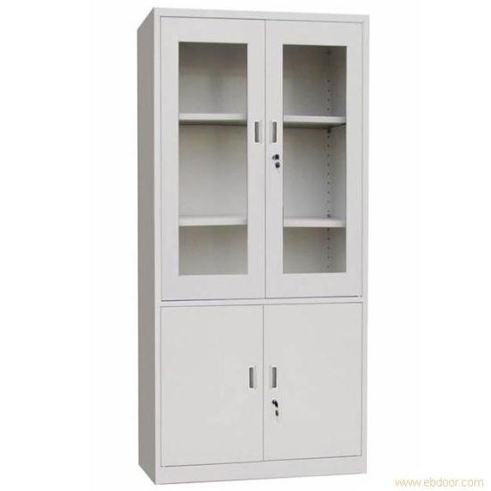 Steel Office Storage Up Gl Door Down Metal Cupboard