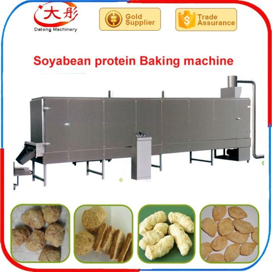 Textured Soya Protein Nuggets/ Chunks Machine pictures & photos