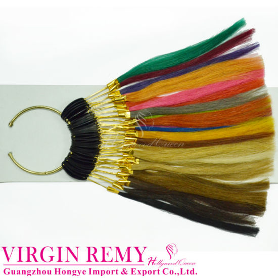 China Professional Human Hair Color Chart Color Ring Hq Ci S