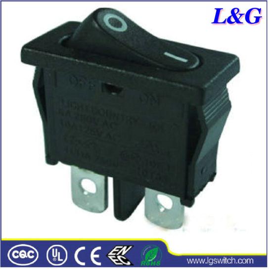 2 Position on/off Single Pole Mini Rocker Switch
