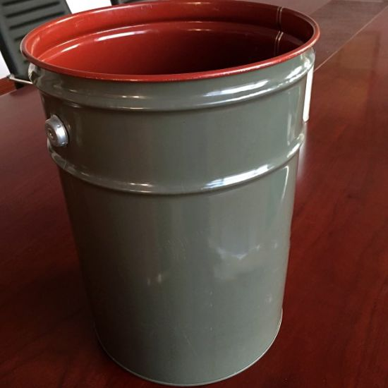 20 Liter Metal Drum Tin Paint Bucket with Handle pictures & photos