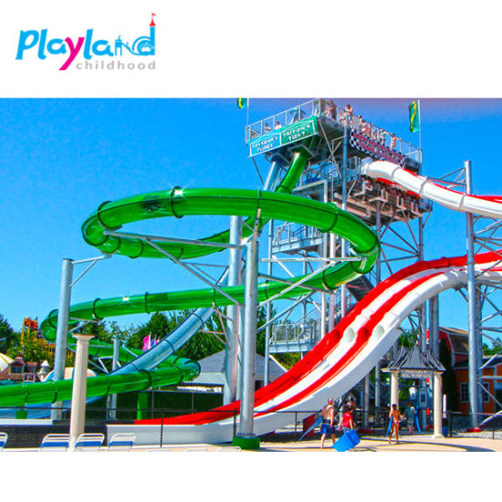 High Quality Used Fiberglass Water Game Water Play Equipment Price