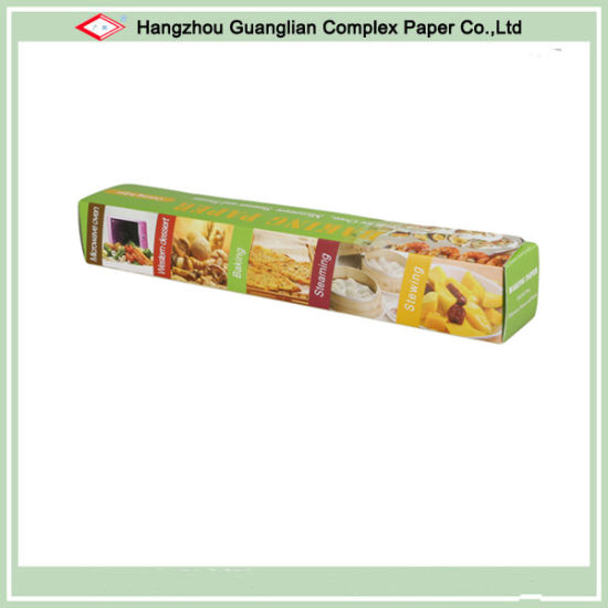 Natural White Baking Cooking Paper Roll Supermarket Supply