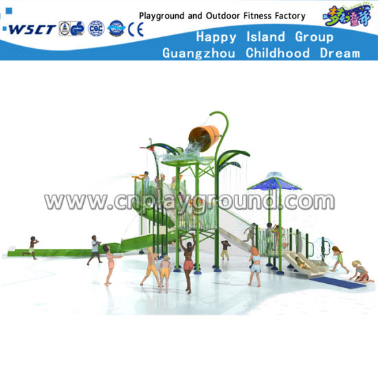 New Design Children Outdoor Water Playground Slide Equipment HD-Cusma1605-Wp006 pictures & photos