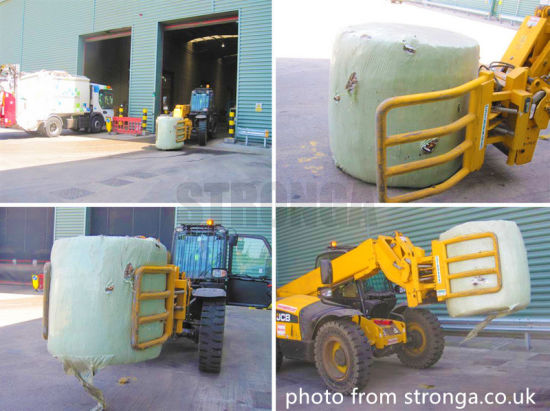 Hay Silage Film 750mmx1500mx25um International Standard for Joint Bundling Machine pictures & photos