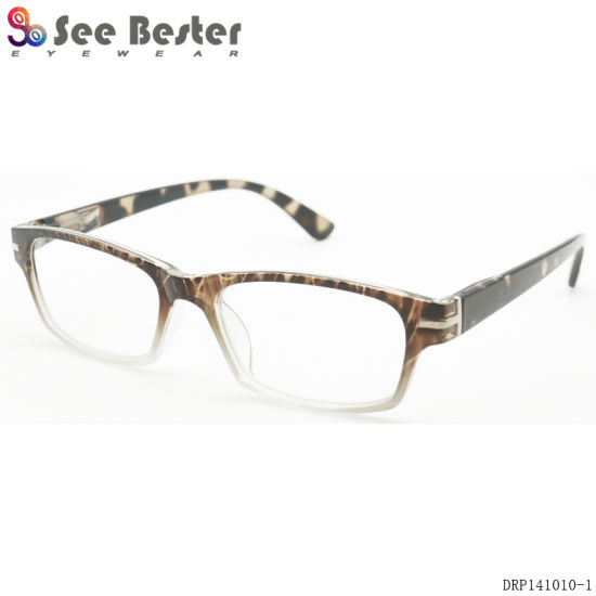 c1e1291c12dc Fashionable Seebester Supply China Wholesale Plastic Optical Eyeglasses  Frame Reading Glasses Readers with Colorful Pattern Metal Decoration