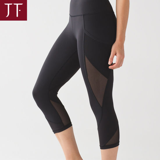 e1b51a96cf Low MOQ Yoga Clothing Organic Young Nylon Black Hot Yoga Leggings. Get  Latest Price