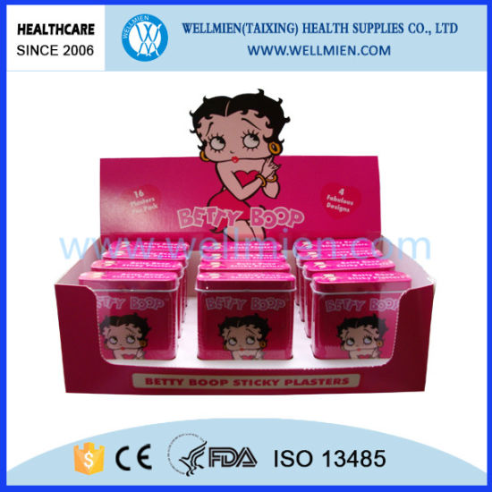 Disposable Medical PE&PVC Cartoon Band Aid (WM-23104) pictures & photos