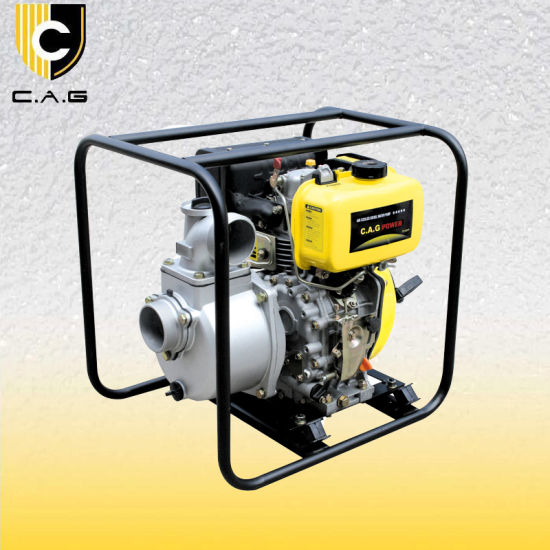 Small 3inch Self Priming Portable Diesel Engine Driven Trash Water Pump (TP30DP) pictures & photos