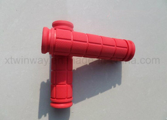 Bicycle Parts Bicycle Plastic Colourful Handle Grip pictures & photos
