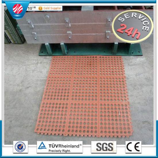 Anti-Slip Interlocking Kitchen/Chef Rubber Floor Protection Mats, Rubber Floor Covering pictures & photos