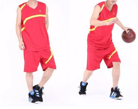 Fashion OEM Breathable Polyester Basketball Sports Clothes pictures & photos