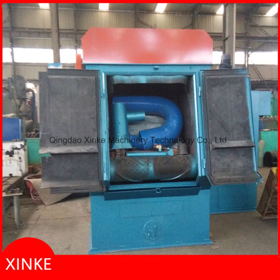 Tumblast Shot Blasting Machine Used Aluminum Casting Cleaning Parts pictures & photos
