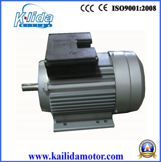 370W Aluminium Body Single Phase Double Capacitor AC Motors